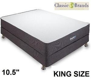 NEW CB KING MEMORY FOAM MATTRESS - 117903088 - CLASSIC BRANDS COOL GEL VENTILATED