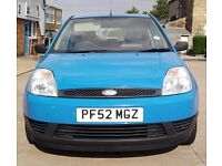 03 FORD FIESTA 1.3 SERVICE HISTORY 3 DOOR 2 OWNERS CHEAP px VAN Punto yaris focus corsa Ibiza