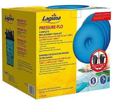 Laguna Pressure-Flo Replacement Foams 5-pack for Pressure-Flo 3200 / 4000