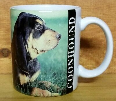 1992 COONHOUND Coffee Mug Dog Puppy Xpres Corp. -