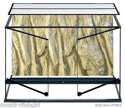 "Exo Terra Natural Terrarium Advanced Reptile Habitat Large Tall 36"" x 18"" x 24"""