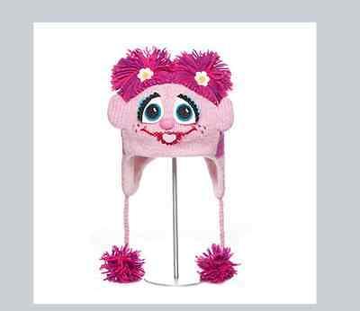 ADULT Abby Cadabby HAT animal ski cap FLEECE LINED pink Sesame Street QUALITY](Abby Cadabby Hat)