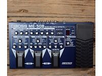 Multiple effects Bass pedal BOSS ME50B Hardly used - perfect condition