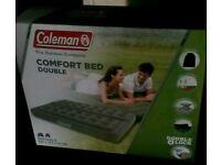 Coleman Comfort Double Airbed.