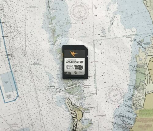 Humminbird 600017-2 Lake Master Chart Great Plains SD