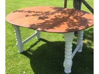 Solid 4 seater Antique Table - Reduced for Quick Sale