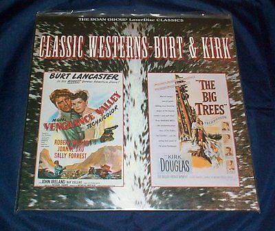 Vengeance Valley / The Big Trees - Laserdisc - Roan - Sealed