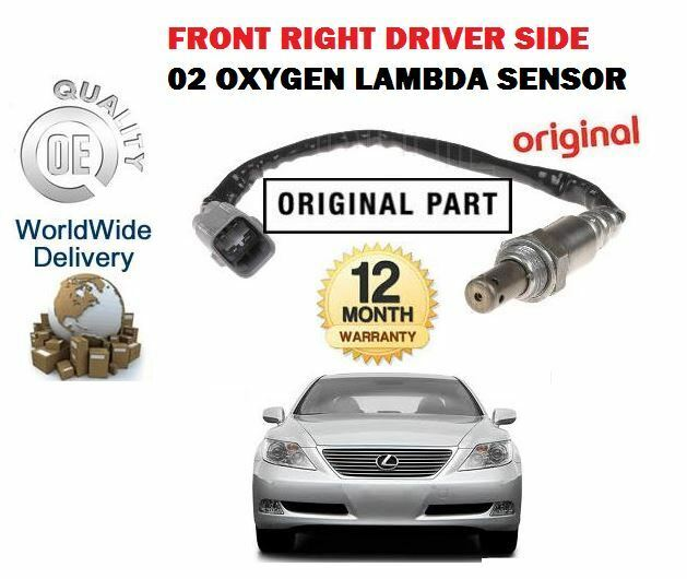 FOR LEXUS LS460 4.6 8/2006-->NEW RIGHT SIDE UPPER 02 OXYGEN LAMBDA SENSOR