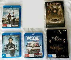 DVDs and Blu-rays Wollstonecraft North Sydney Area Preview