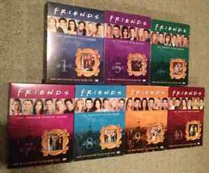 Friends DVDs Seasons 1, 6-10