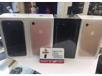 Iphone 7 32gb brand new seal box one year apple warranty