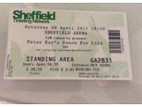 2 x Peter Kay Tickets - Sheffield Saturday 8th April £35 each