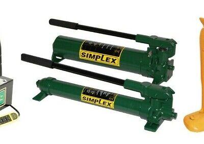 P22 Simplex 2 Speed Hand Pump 1st 200psi 2nd 10000 Psi Oil Capacity 20cu.in.