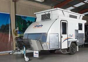 OFF ROAD 12' Hybrid  EAGLE CAMPER Para Hills West Salisbury Area Preview