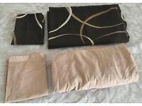 Single bed set with fitted sheet and matching pillowcases