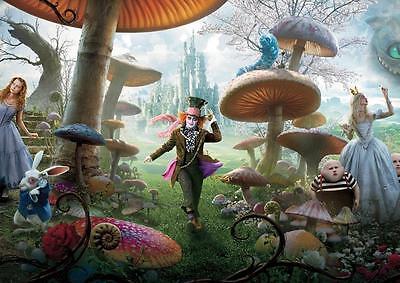 POSTER Mad Hatter Tim Burton Photo Print Poster A4 A3   (Tim Burton Alice In Wonderland)