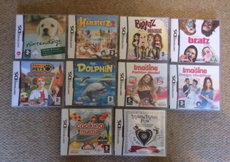 Various DS games- OPEN TO OFFERS