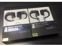 New Sweatproof Wireless Bluetooth 4.0 Earphones Headphones Headset Sports Gym Mic Built in
