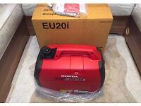 Honda eu20i suitcase generator brand new boxed