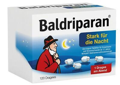 Baldriparan Stark für die Nacht Dragees 120 St PZN: 1819245