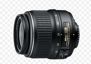 Nikon D3100 lens
