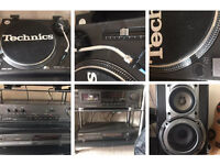 Technics SL-1210 MK2 Turntable plus seperates