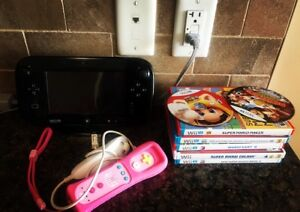 Wii console; extra controls, 7 games