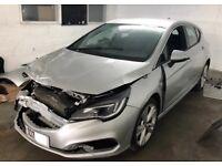 2017 Vauxhall Astra SRI Vx-Line Nav Diesel Damaged Salvage