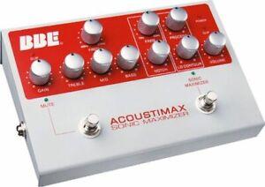 Preamp de Guitare Acoustique BBE Acoustimax