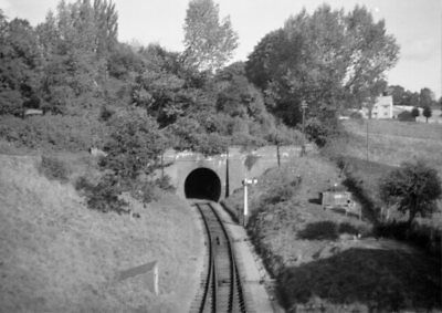 PHOTO  CHIPPEN NORTON TUNNEL ON 20TH SEPT 1964