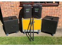 KV2 Audio EX powered PA system EX10 EX2.2