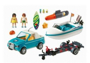 New playmobil surfer pickup with speedboat
