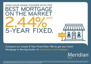 Best Mortgage on the Market! 2.44%