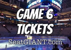 MAPLE LEAFS GAME 6 TICKETS - TONIGHT!!!