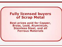 SCRAP METAL BUYERS SAME DAY WIEGH PAY SERVICE