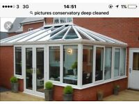 Deep cleaning on your upvc conservatory gutter cleaning