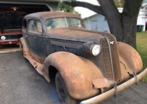 1936 pontiac barn find with registration