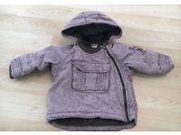 H&M Baby Boys Jacket 6-9 Months Detachable Hood