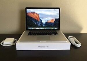 "Flawless 2015 MacBook Pro 15"" w/applecare"