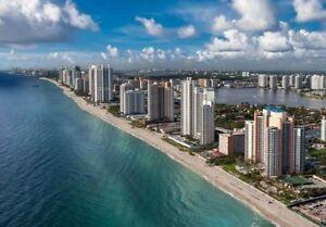 FLORIDE/LUXUEUX CONDO 1500PC/BALCON 30' SUR MER/19 mai au 23 jui