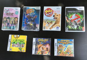 Wii and Nintendo DS games - Brand New Sealed Packages