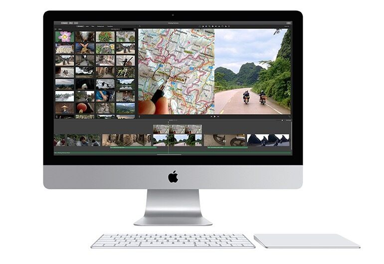 """iMac 27"""" Retina 5K (i7, 16GB) Top SpecsAS NEWin South Kensington, LondonGumtree - Top spec, bought directly from the Apple Store in London. Perfect condition, with wireless keyboard and touchpad. Comes complete with original boxing. iMac 27"""" 5K Retina Intel Core i7 4Ghz 16GB 1600 Mhz DDR3 AMD Radeon R9 M290X 2048 MB 512GB Apple..."""