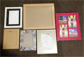 6 Photo Frames Assorted