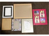 6 Photo Frames Assorted