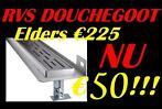 let op! RVS douchegoot €50!! de goedkoopste van Nederland!