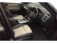 Black AUDI SQ5 4X4 ESTATE 3.0 BITDI Diesel QUATTRO TIP FROM £124 PER WEEK!