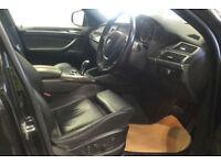 Black BMW X6 3.0TD auto 2009 xDrive35d FROM £57 PER WEEK!