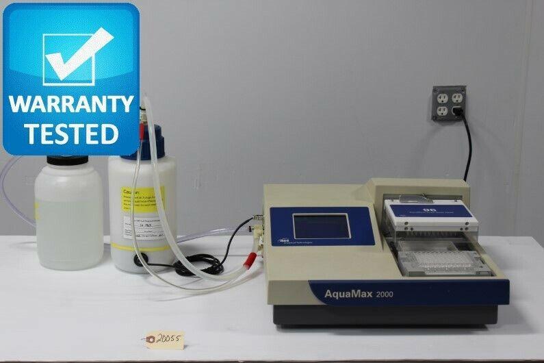 Molecular Devices AquaMax 2000 Microplate Washer AQ2K w/ 96-well wash Head Unit2
