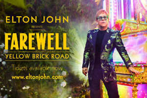 Ticket for ELTON JOHN: FAREWELL TOUR - Toronto - Oct. 22, 2019
