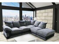 New Dino Jumbo sofa 3+2 seater left/right corner ***Sale On **